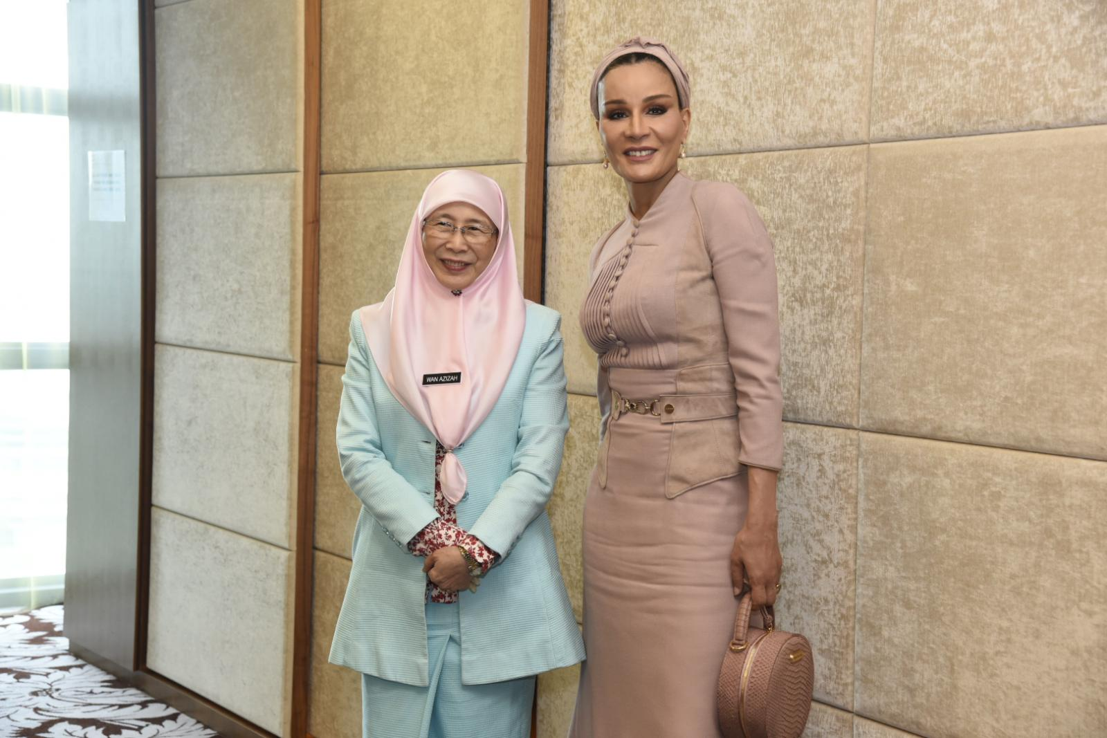 The Special Visit To Malaysia By Her Highness Sheikha Moza Nasser?