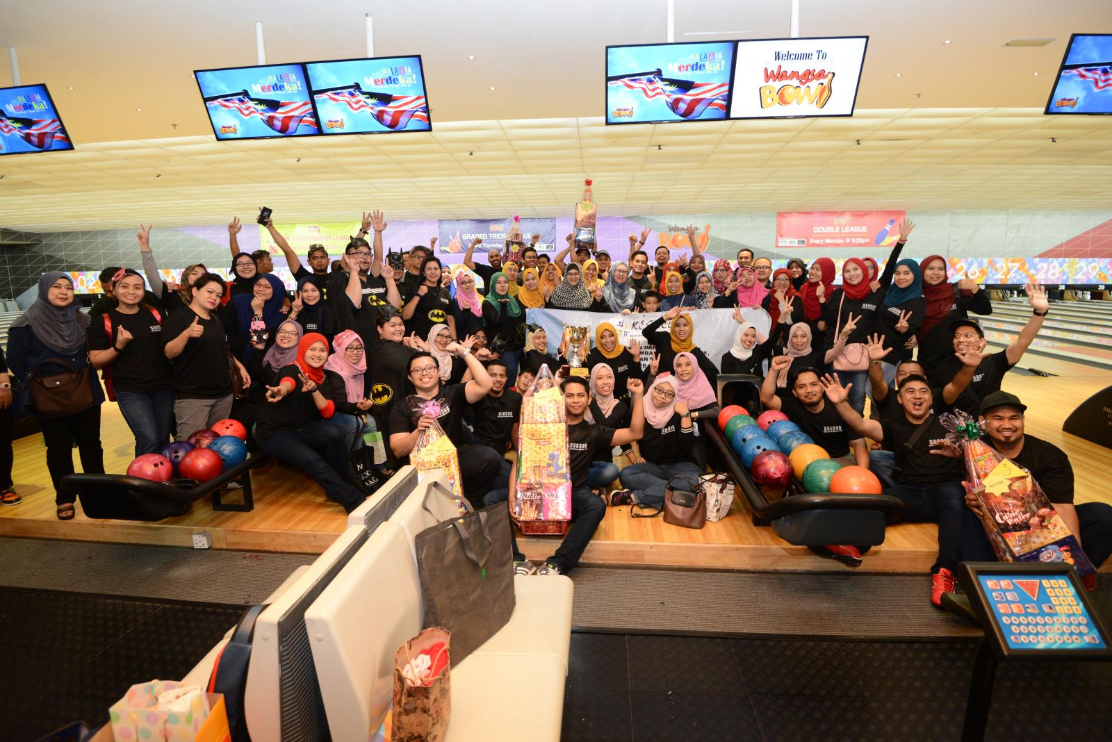 7.7.2019 Program Pertandingan Bowling KESKEB KPWKM