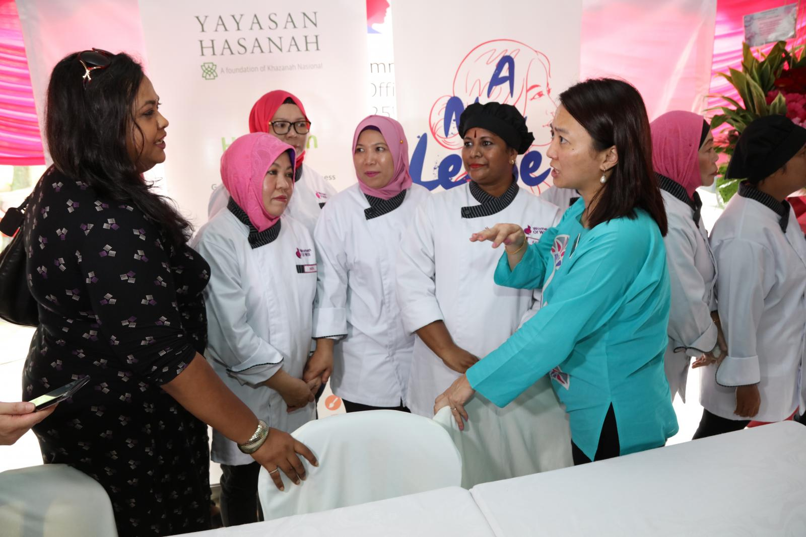 25.5.2019 Launch The Opening Community of A Community Kitchen in PPR Batu Muda for B40 Women