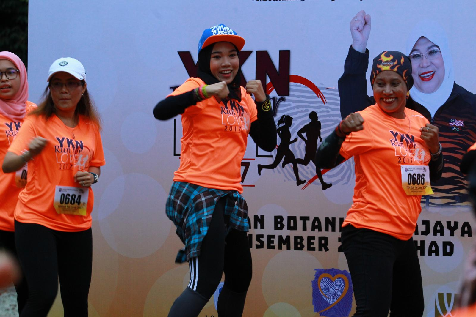 Run For Love 2017 YKN di Taman Botani , Putrajaya